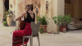 Clara Pouvreau, G.Cassadó suite for solo cello, I. Preludio-fantasia
