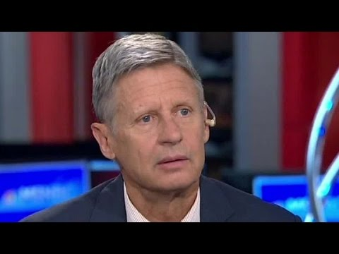 Gary Johnson: What is Aleppo?