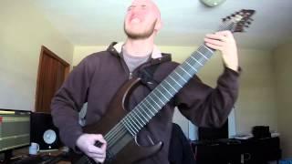 Meshuggah - Elastic | Guitar Cover by Tyler Nassiri