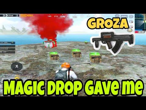 MAGIC DROP GAVE ME GROZA😱   PUBG MOBILE   Adiyn Gaming