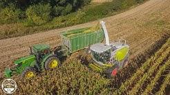 Lohnunternehmen Matthias Wende // Mist streuen, Mais legen, Gülle fahren, Mais häckseln