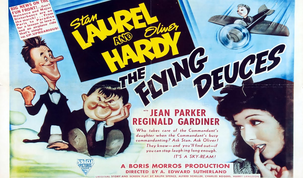 The Flying Deuces (1939) 1080p - YouTube