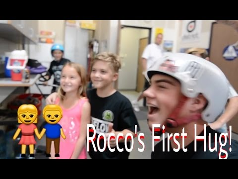 ROCCO PIAZZA'S FIRST HUG!!!!!
