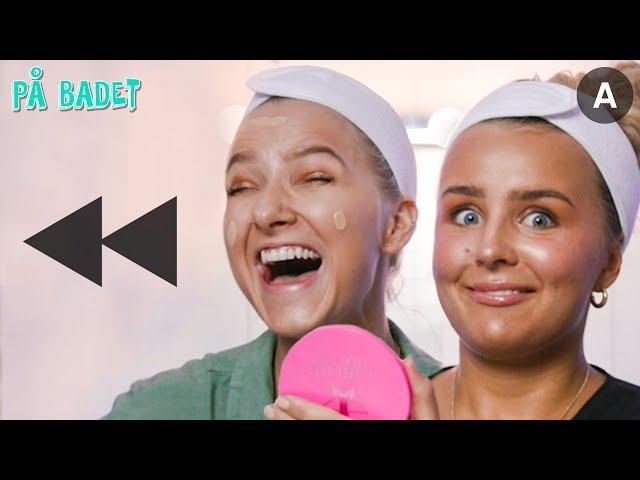 Sminker oss BAKLENGS!?   Hanna-Martine   På Badet med VITA