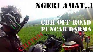 Test Ride off road CBR K45G ke Puncak Darma 1
