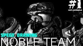 Speed Drawing :: NOBLE Team :: E1