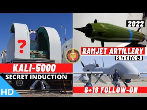 Download Indian Defence Updates : KALI-5000 Secret Induction ?,24 Predator-B Deal,Ramjet Artillery By 2022