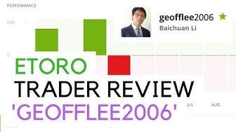 eToro Trader Review 2020 - 'GeoffLee2006'