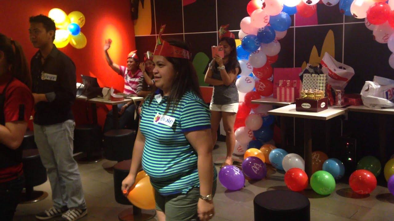 Abi's 30th Birthday Celebration At McDonald's Spinneys