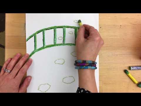 Monet Bridge Lesson Video 1of 2