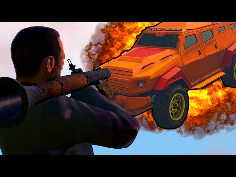 INSURGENT VS RPG ( TROP DE SKILL ! )  - GTA 5 ONLINE