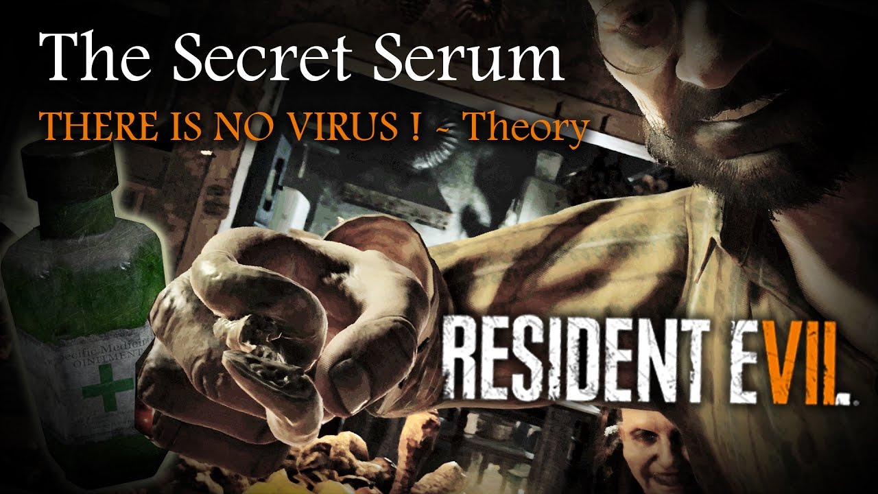 resident evil 7 how to get the serum
