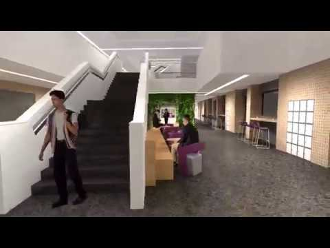 Animated fly-through of our new engineering building