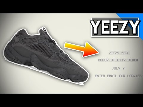 "*EASILY* How To Cop The Yeezy 500 ""Utility Black"" FOR RETAIL! YeezySupply.com Tips & Tricks!"