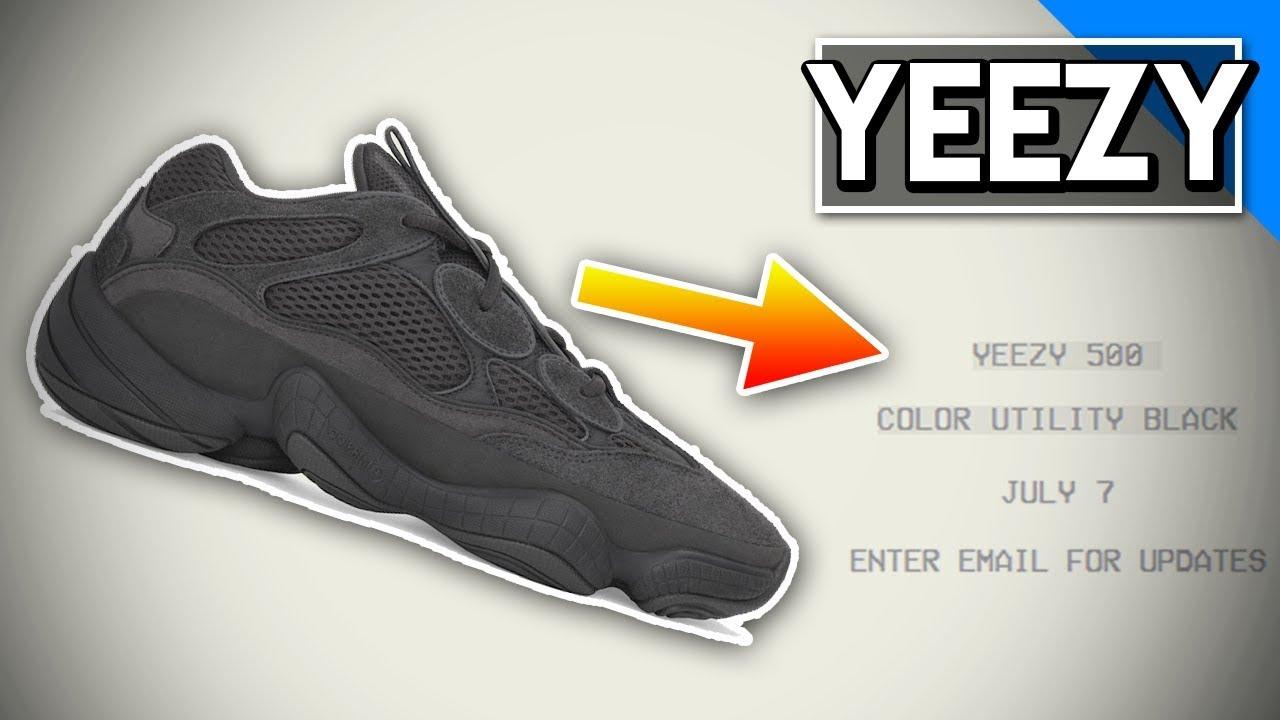 yeezy 500 utility black retail