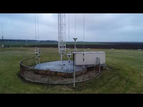 Mediumwave broadcast site in Zeewolde, The Netherlands