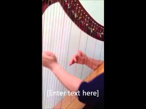 Durham Wedding Harpist Plays Prelude In C by Bach.