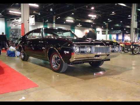 1968 Oldsmobile Olds Cutlass S W-31 Ram Rod In Black & Engine Sound My Car Story With Lou Costabile