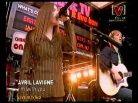 Avril Lavigne - I'm With You live on Channel V