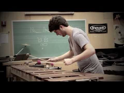 """Evan Chapman - """"Opening"""" from Glassworks by Philip Glass (Marimba) *HD*"""