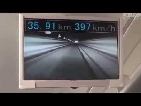 Japon presento su tren de levitacion magnetica el convoy mas rapido de la historia