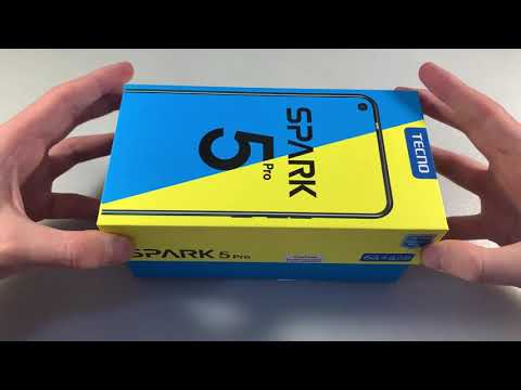 Мобильный телефон Tecno Spark 5 Pro 4/64GB Orange (4895180756054)