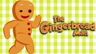 The Gingerbread Man | Full Story | Animated Fairy Tales For Children | 4K UHD thumbnail