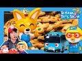 A mean baker Eddy with Tayo! l Hana's Toy Show #4 l Hana the Mechanic l Tayo the Little Bus