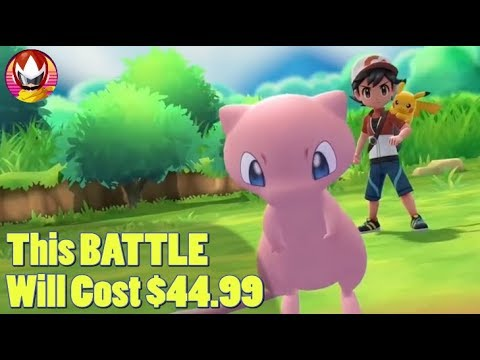 Pokemon Let's GO Pay Walls The MEW Master Trainer? thumbnail