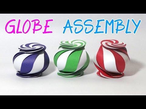 DIY Crafts - Yin Yang Globe Assembly