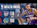 Kings vs Warriors Best Plays From the Final Minutes | November 27, 2017