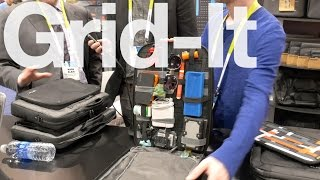 Surprisingly Useful Grid-It System by Cocoon at CES 2015