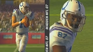 MADDEN 2007 PS2 GAMEPLAY :: PATS VS COLTS :: RETRO GAME OF THE DAY