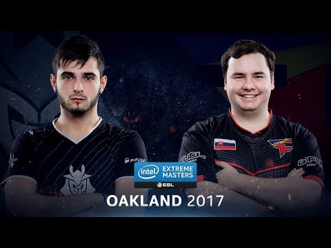 CS:GO - G2 vs. FaZe [Overpass] - Group B Round 1 - IEM Oakland 2017