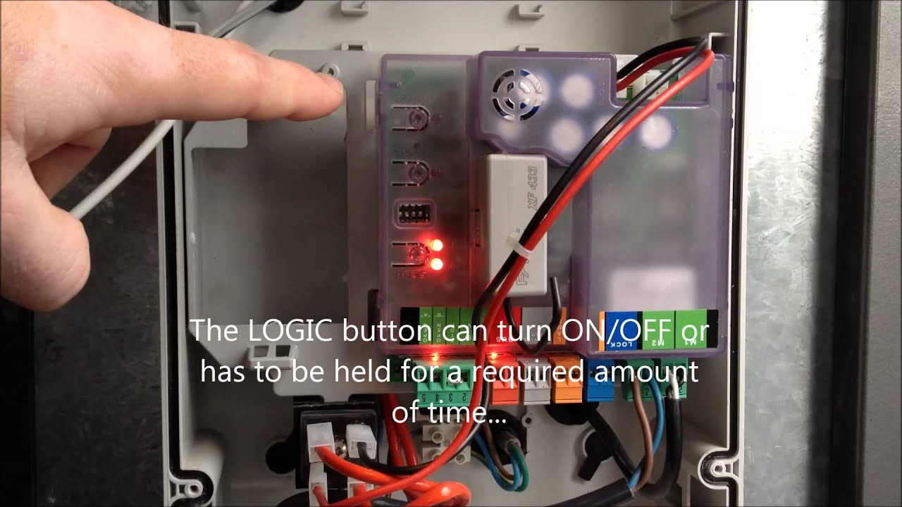 E024S Setup video for use will all FAAC Swing Gate Operators : Global on