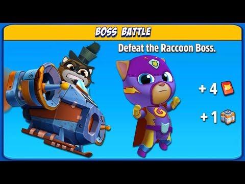 Talking Tom Hero Dash Boss Battle Special Event