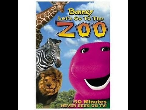 Opening & Closing To Barney:Let's Go To The Zoo 2001 VHS