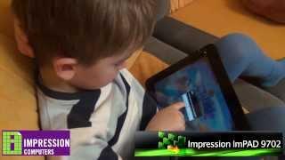 Обзор Android игр для детей на игровом планшете Impression ImPAD 9702