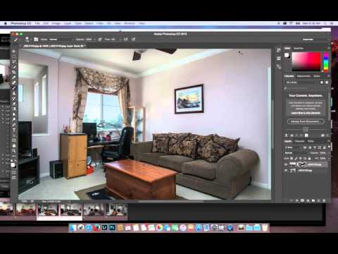 Using masking to expose and inhance your Real Estate Images.
