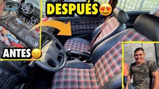 TRANSFORME EL INTERIOR DEL AUTO DE UN SEGUIDOR.. | ManuelRivera11