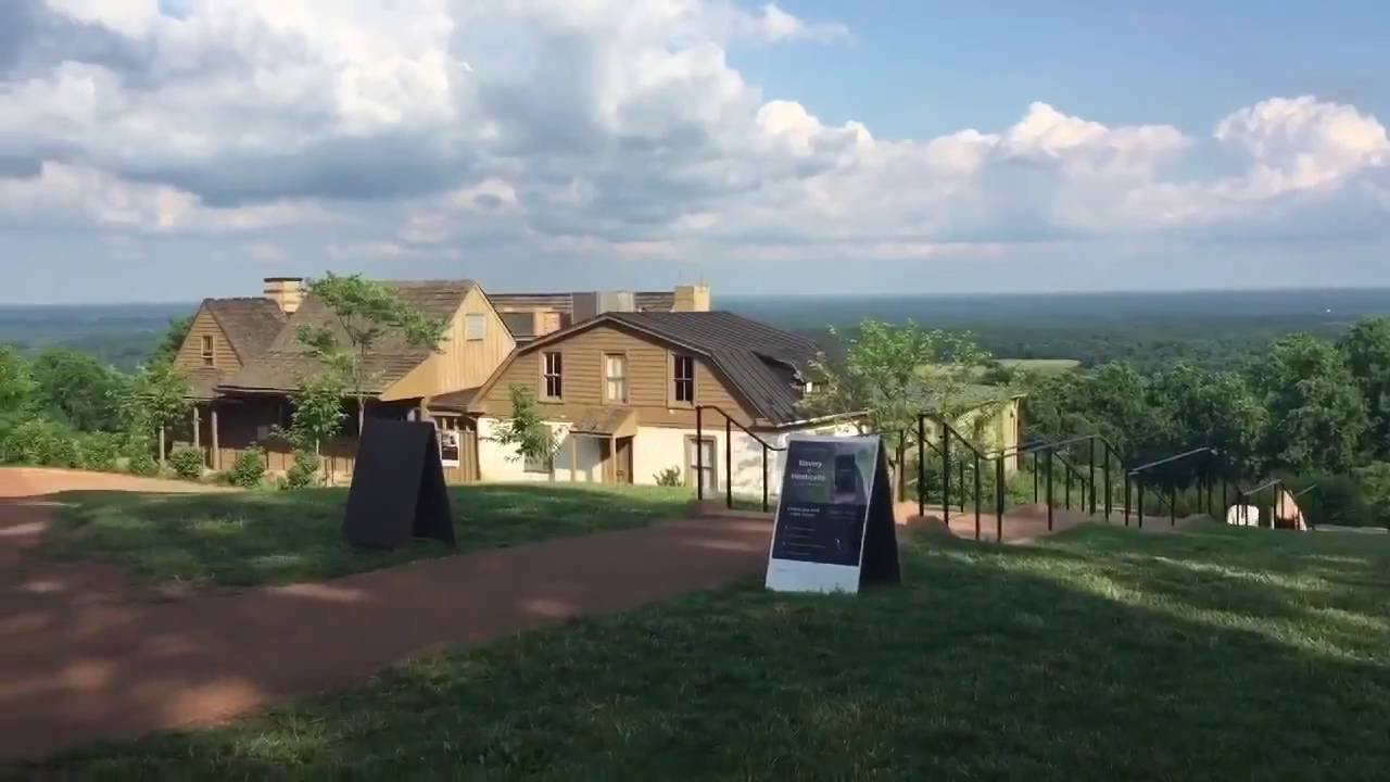 Thomas jefferson monticello home estate video tour for Thomas jefferson house monticello