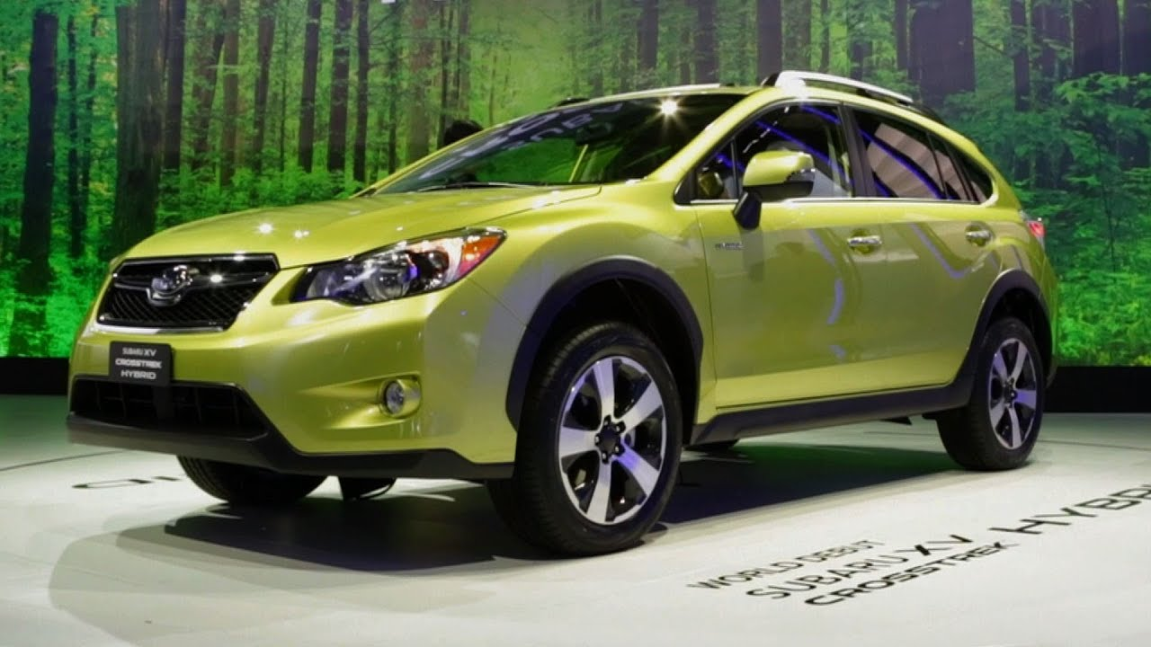 2014 Subaru Xv Crosstrek Hybrid At The Ny Auto Show