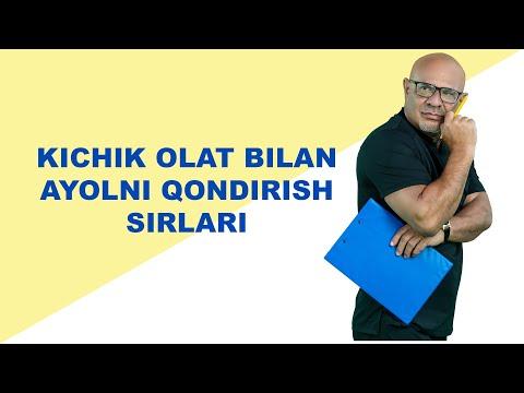 #184 KICHKINA OLAT BILAN AYOLNI QONDIRISH