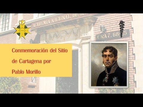 Conmemoración del Sitio de Cartagena por Pablo Morillo