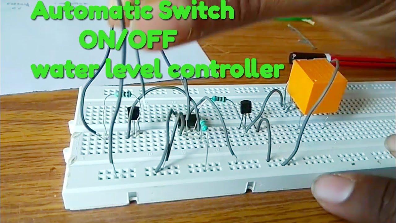 Automatic Switch On Off Water Level Sensor Using 555 Timerdo It Waterlevelsensorcircuit Yourself