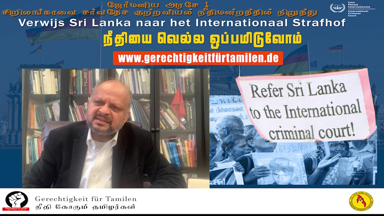 Germany  Refer Sri lanka to International Criminal Court- ICC !
