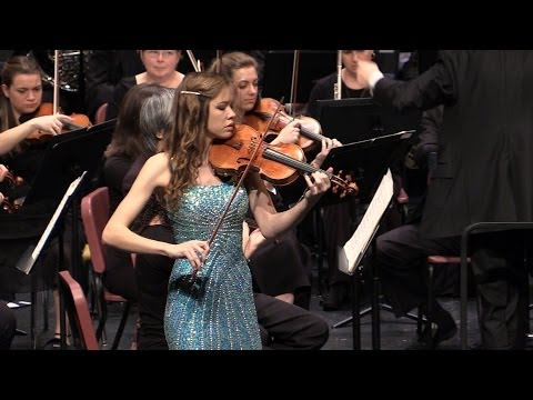 Raleigh Symphony Orchestra - Mary Catherine Cox, violin - Violin Concerto in D major - Tchaikowsky