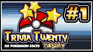 Pokeology Facts: 20 Pokemon Facts To Blow Your Mind #1 [Trivia Twenty Tuesday]