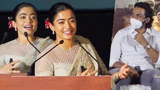 Rashmika Mandanna Cute Speech at Sulthan Movie Trailer Launch Event | Sulthan Pre Release Event