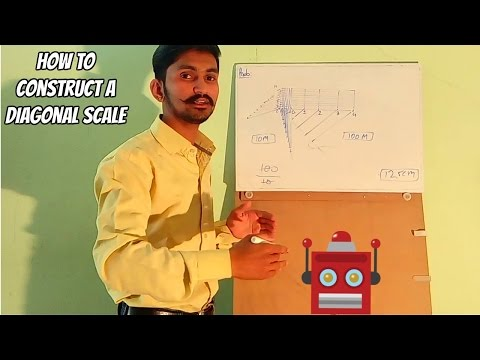 How to Construct a Diagonal Scale-2 | Engineering Drawing | Fly Rajputs